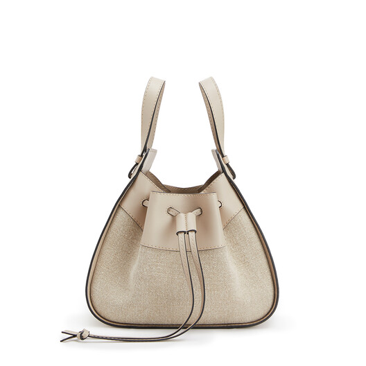 LOEWE Hammock Drawstring Small Bag ライトオート front