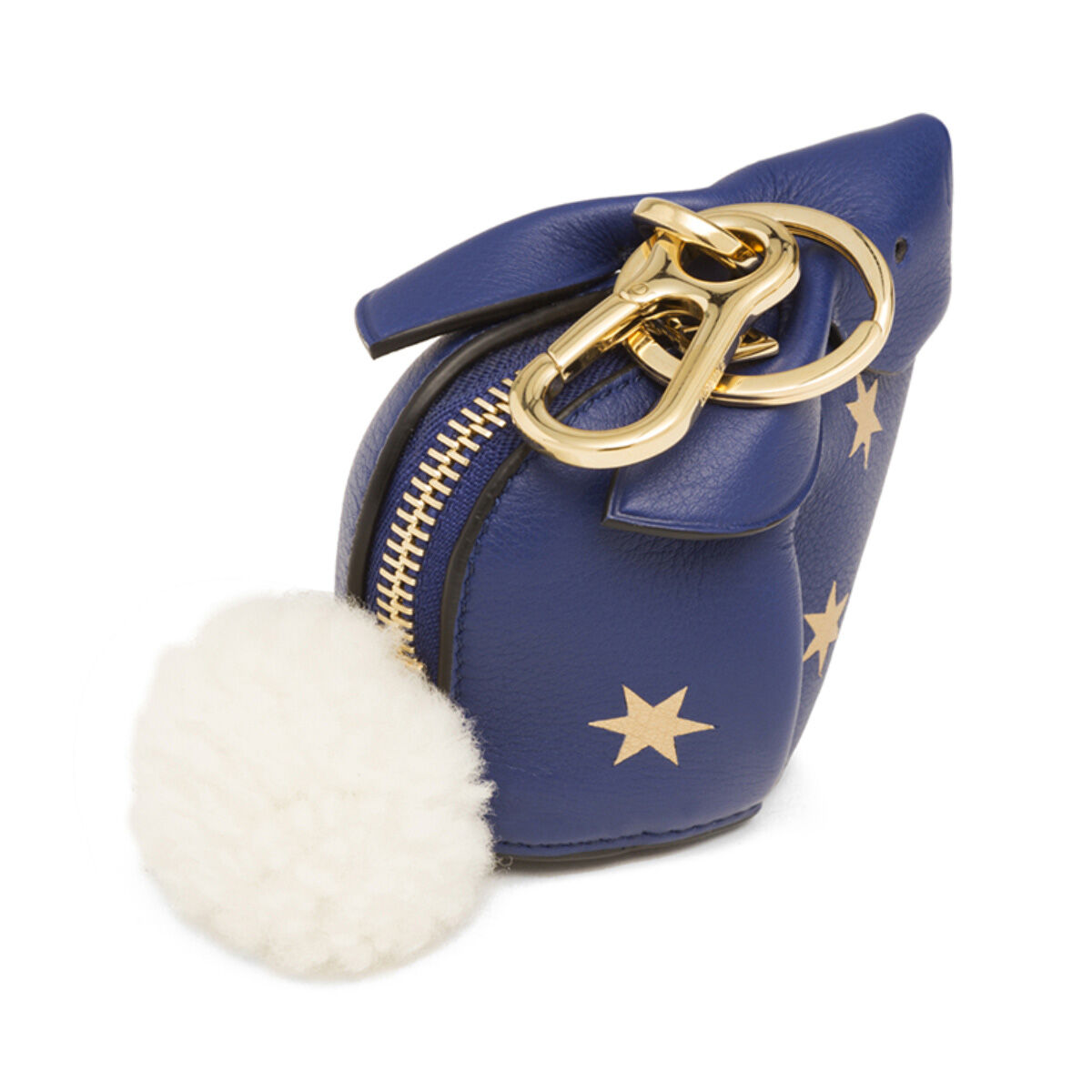 LOEWE Charm Conejo Estrellas Azul Royal/Oro all