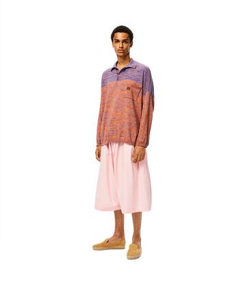 LOEWE Melange Ov Poloneck Sweater Purple/Orange front