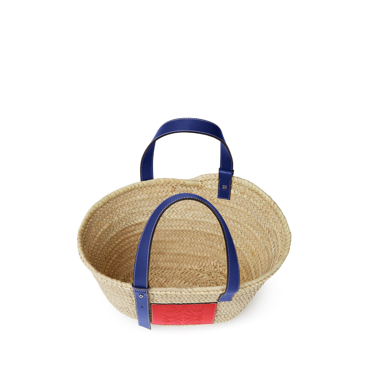 LOEWE London Basket Small Bag Natural/Primary Red front