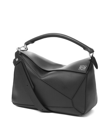 929406a1e9 LOEWE Puzzle Large Bag Black front