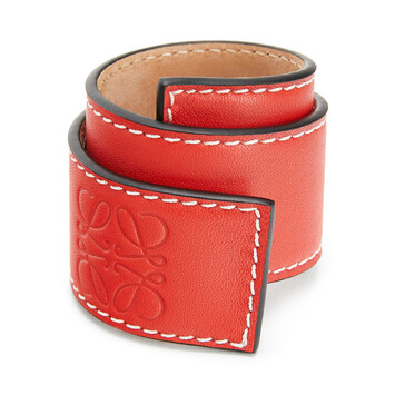 LOEWE Small Slap Bracelet 红色 front