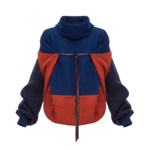 Cape Sleeve Sweater