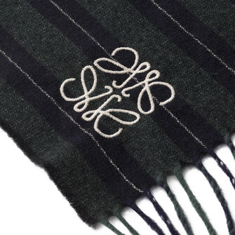30X180 スカーフ バーシティ ストライプ