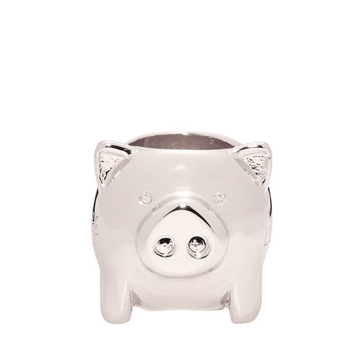 LOEWE Animal Small Dice Palladium front