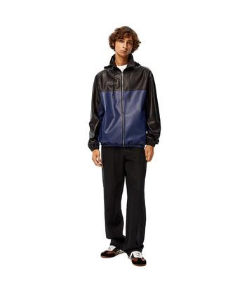 LOEWE Zip Jacket Navy Blue front