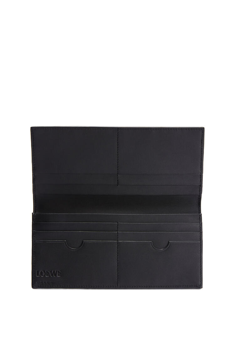 LOEWE Long horizontal wallet in soft grained calfskin Ocean pdp_rd