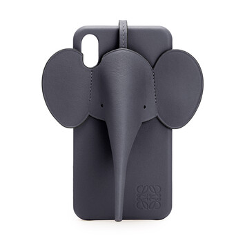 LOEWE Elephant Cover For Iphone Xs Max Deep Blue front