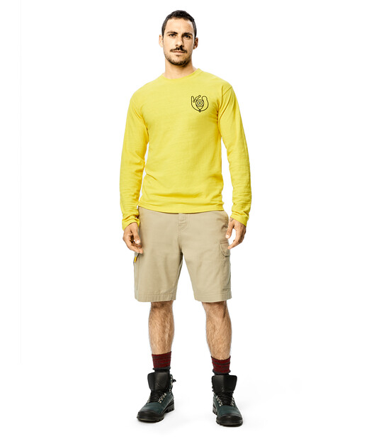 LOEWE Eye Lowe Long Slv T-Shirt Amarillo Brillante front