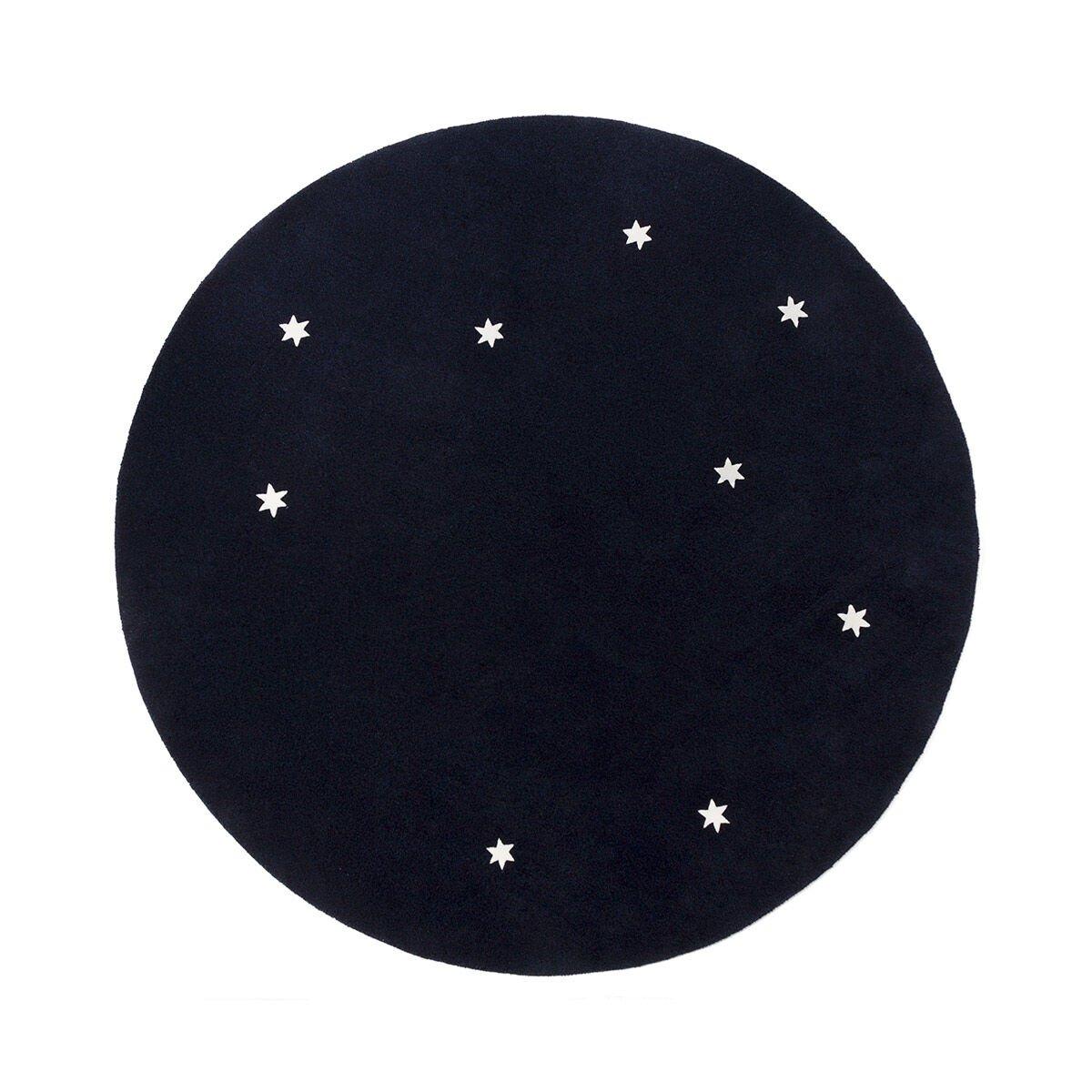 LOEWE Star Carpet L ブルー/ホワイト all