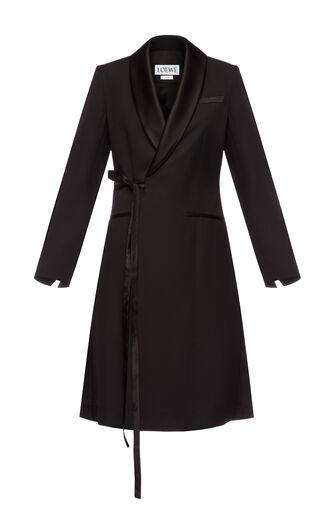 LOEWE Tuxedo Coat 黑色 front