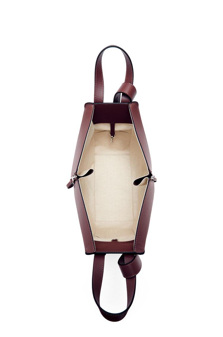 LOEWE Small Hammock bag in classic calfskin Malbec pdp_rd