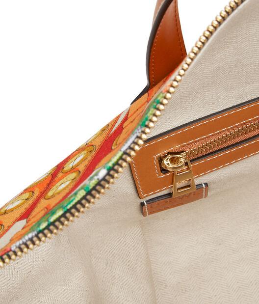 LOEWE Goya Weekender Vintage Bag Multicolor front