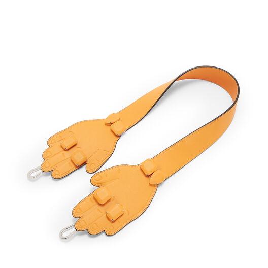 LOEWE Hands Strap Mandarin front