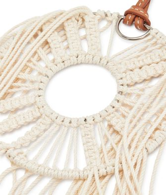 LOEWE Paula Dream Catchers Necklace 绵白色 front