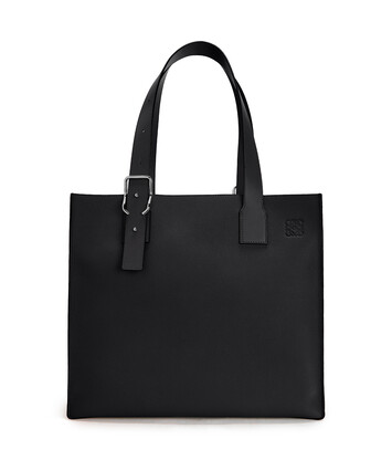 LOEWE Bolso Buckle Tote Negro front