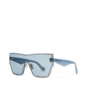 LOEWE Large Mask Sunglasses Vintage Blue front