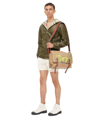 LOEWE Denim Shorts 白色 front
