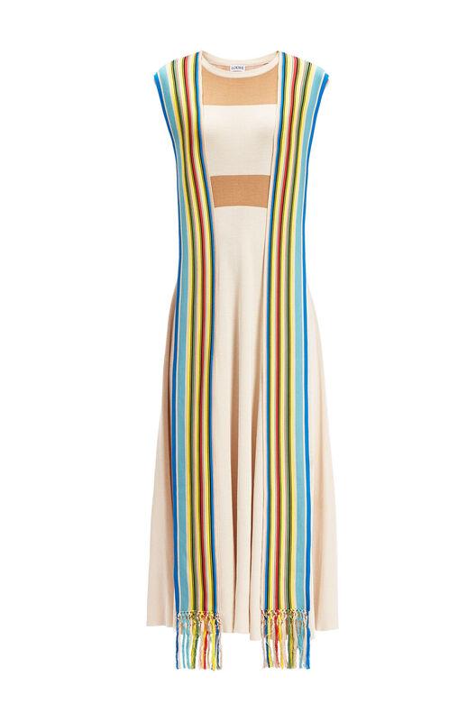 Knit Dress Stripe Bands