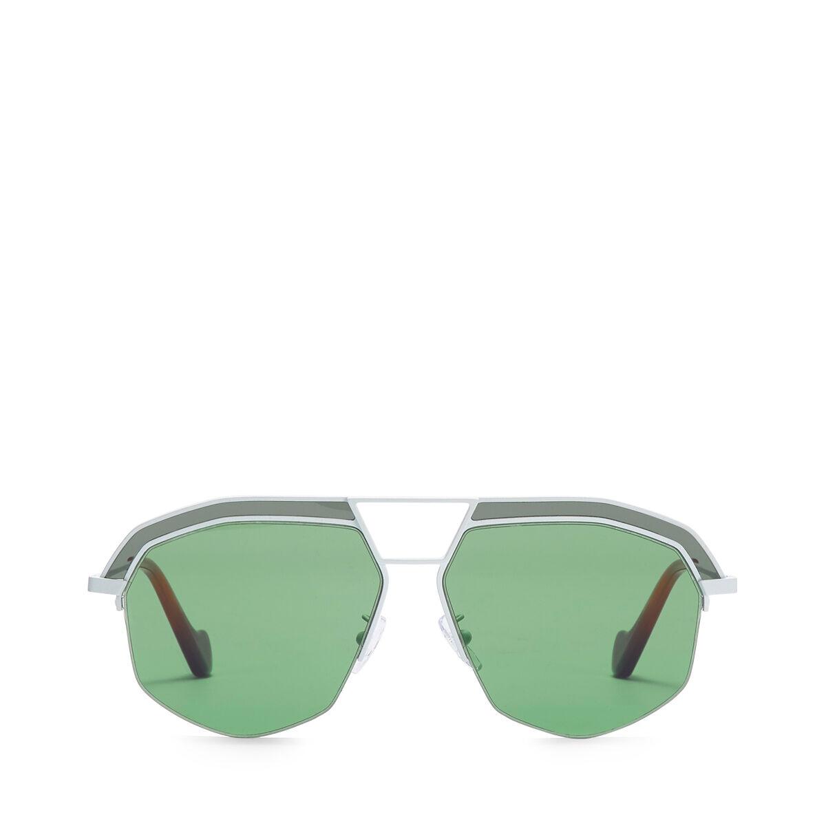 LOEWE サングラス Optical White/Bright Green all