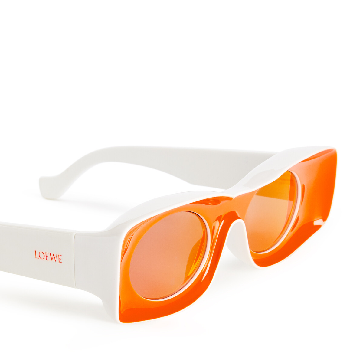 LOEWE Paula's Ibiza Original Sunglasses In Acetate Neon Orange front