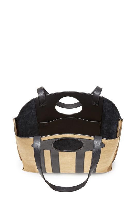 LOEWE Chair Tote Bag 金色/黑色 front