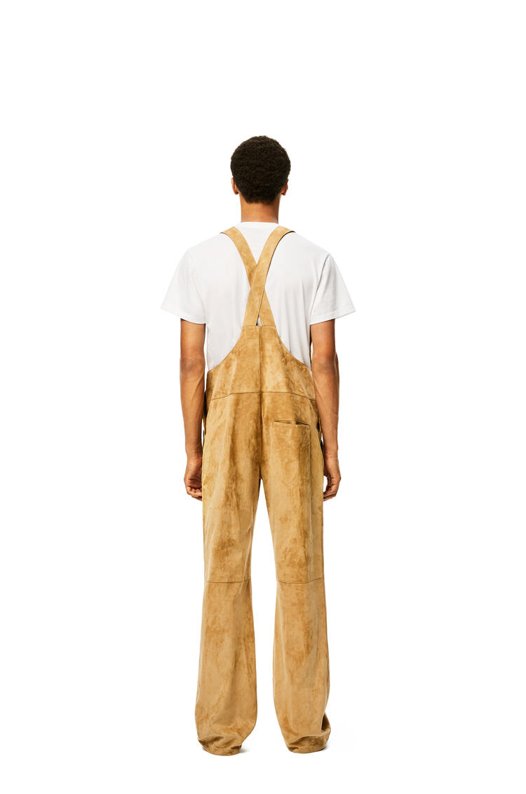LOEWE Overalls in suede Gold pdp_rd