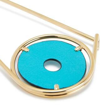 LOEWE Pin Meccano Azul Laguna front