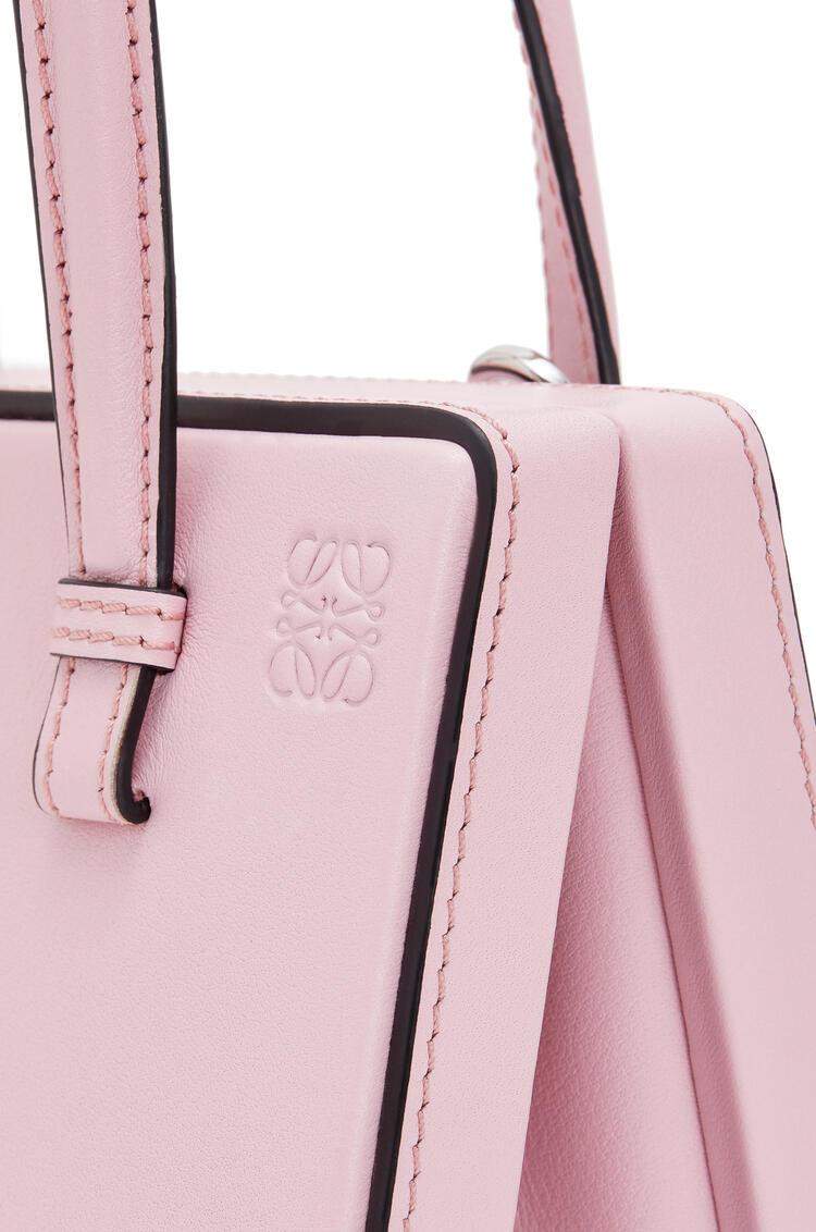 LOEWE Small Postal bag in natural calfskin Pastel Pink pdp_rd
