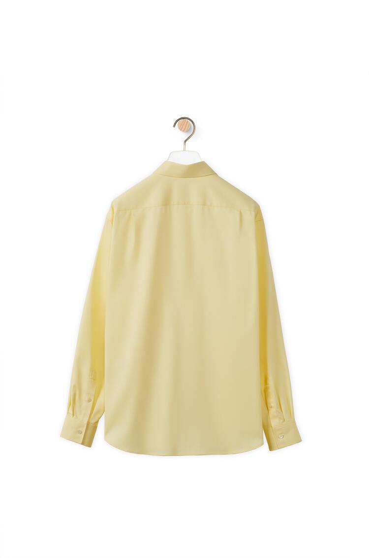 LOEWE Camiseta de trabajo en algodón Amarillo pdp_rd