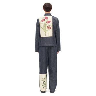 LOEWE Denim Jacket Botanical Blue front