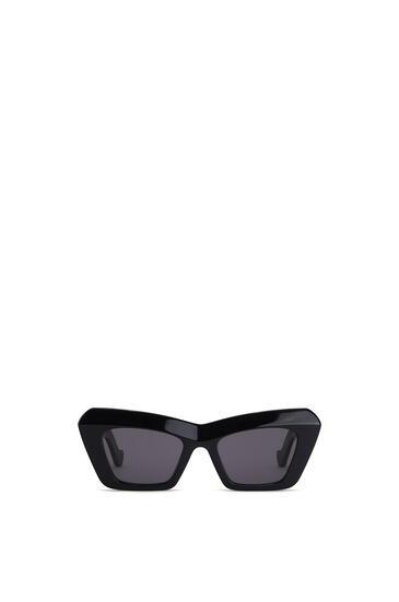 LOEWE Acetate Cateye Sunglasses 黑色 pdp_rd