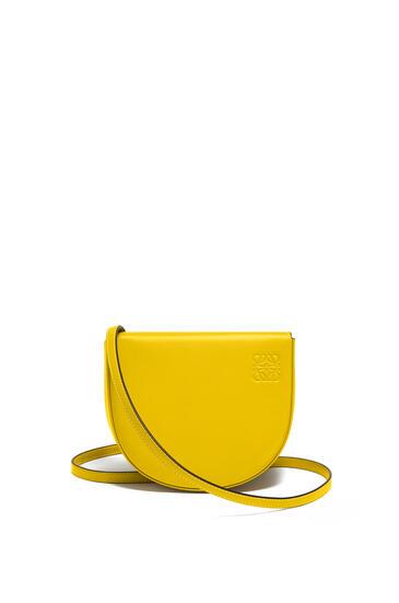 LOEWE Heel Bag In Soft Calfskin Yellow pdp_rd