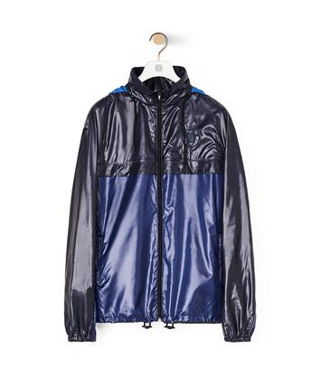 LOEWE Jacket With Hoodie Marino front