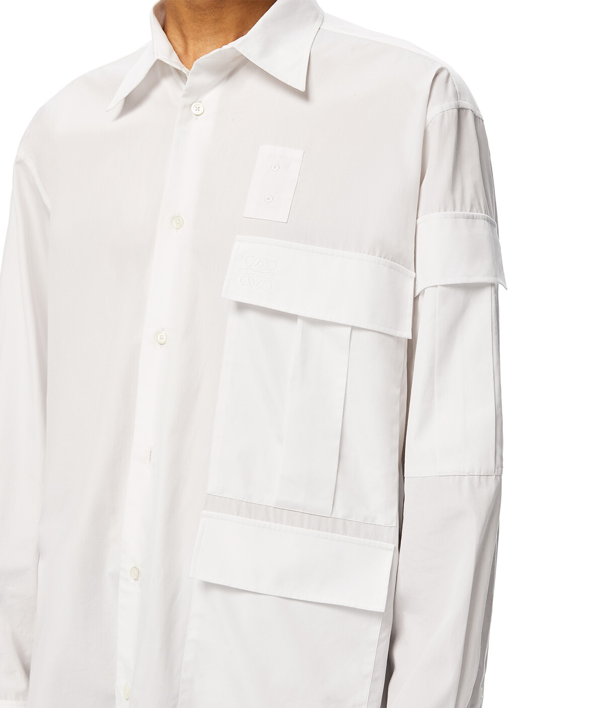 LOEWE Multipocket Shirt Blanco front