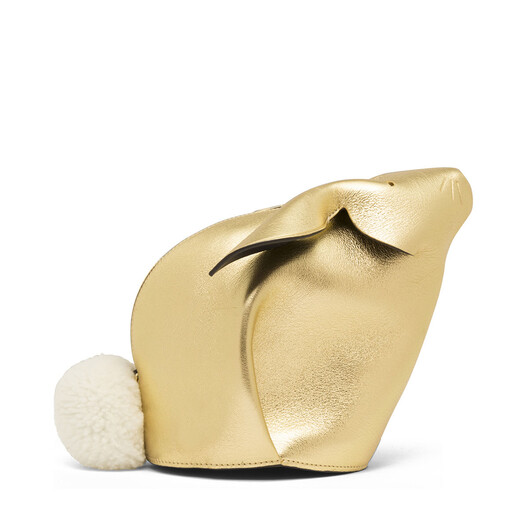 LOEWE Bunny Mini Bag 金色 front