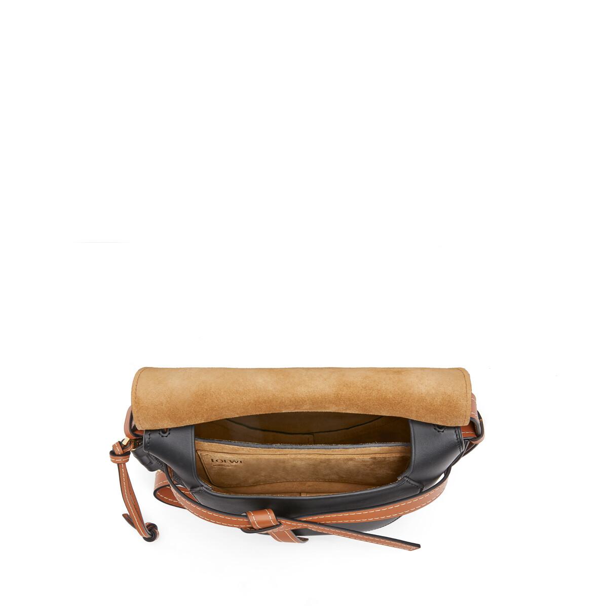 LOEWE Paula's Gate Yin Yang Small Bag Tan/Black front