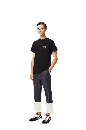 LOEWE 棉质 Anagram T恤 黑色 pdp_rd