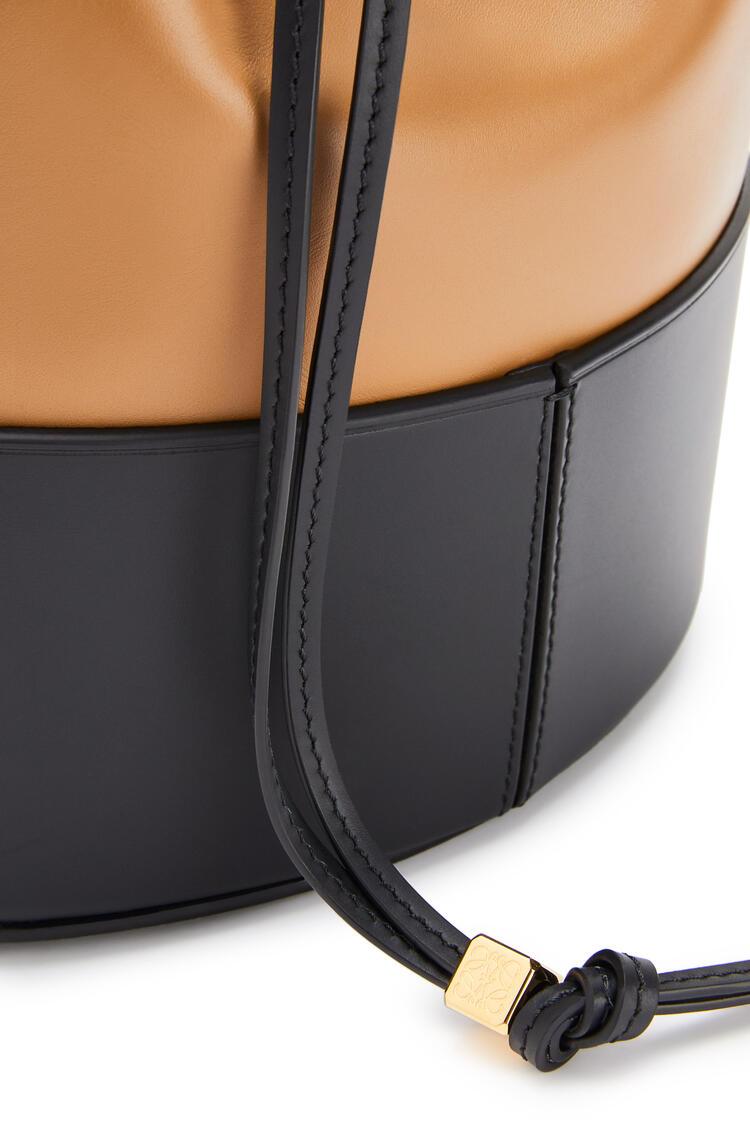 LOEWE Balloon bag in nappa calfskin Oak/Black pdp_rd