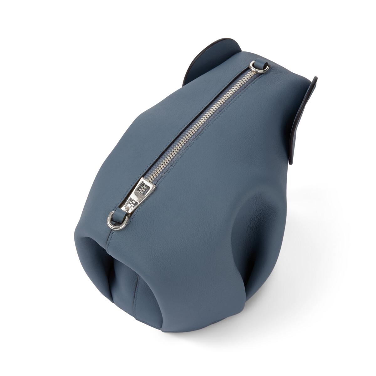 LOEWE Elephant Mini Bag Steel Blue front