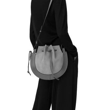 LOEWE Horseshoe Bag Black front