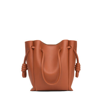 LOEWE Bolso Flamenco Knot Tote Peque Color Oxido front