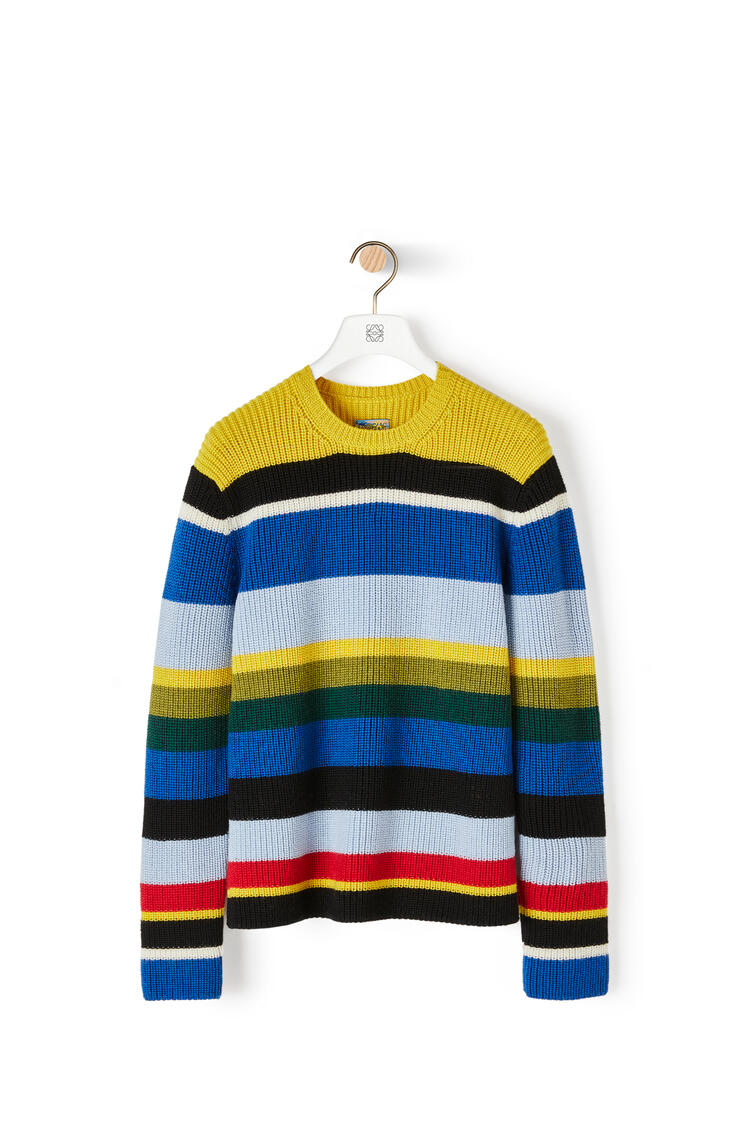 LOEWE Sweater In Striped Cashmere Multicolor pdp_rd