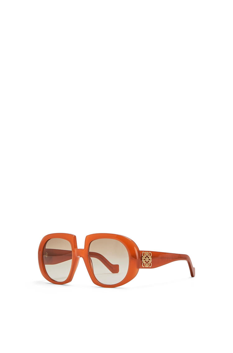 LOEWE ACETATE ANAGRAM SUNGLASSES Brown/Rust Color pdp_rd