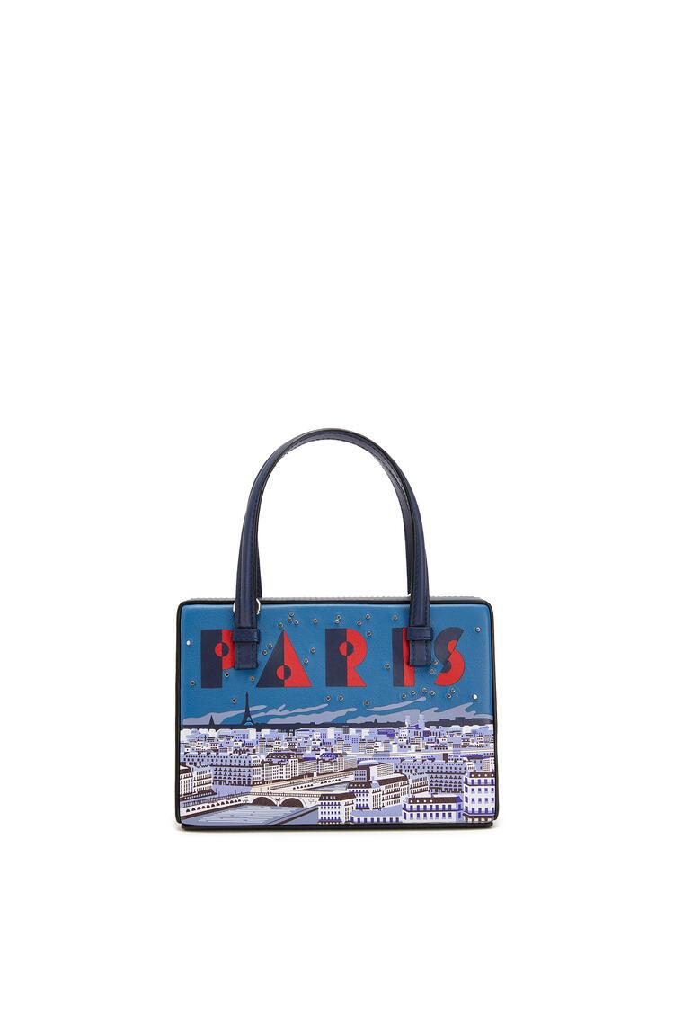LOEWE Small Paris Postal bag in natural calfskin Marine pdp_rd
