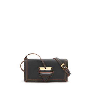 LOEWE Barcelona Soft Mini Bag Black front