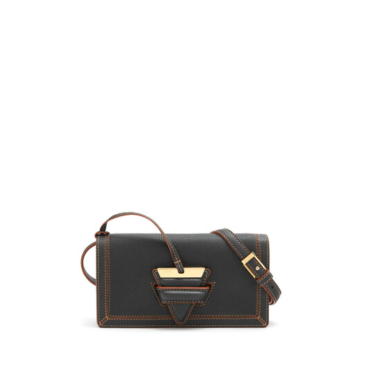 LOEWE Barcelona Soft Mini Bag Black front