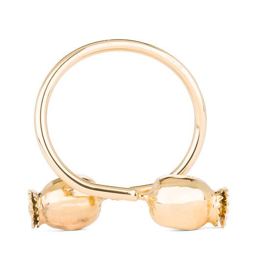 LOEWE Poppy Bracelet Gold all