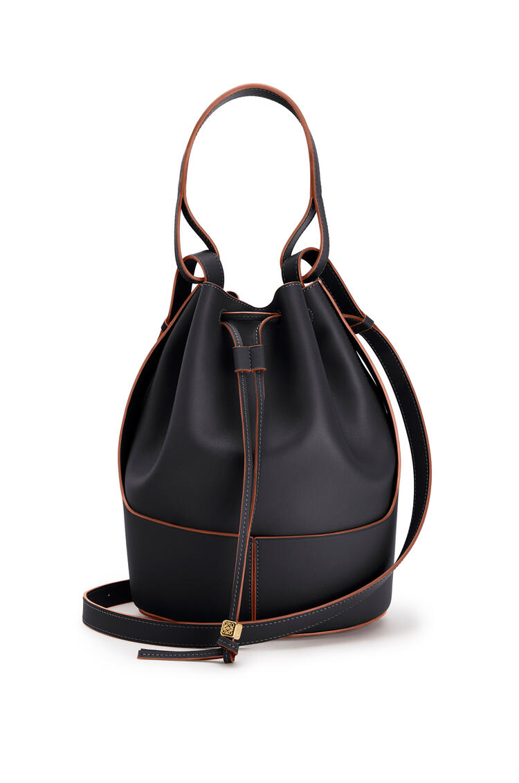LOEWE Large Balloon bag in nappa calfskin Black pdp_rd