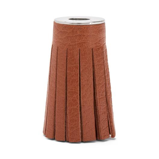 LOEWE Tassel 棕褐 front